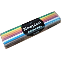 Newplast Modelling Clay Rainbow Colours 500g