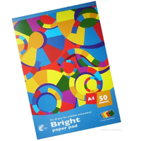 A4 Bright Coloured Paper 50 Sheets
