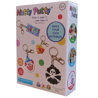 Nutty Putty Make Your Own Keyrings