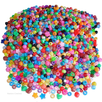 2000 Mixed Plastic Beads for Children