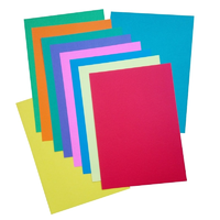 10 Sheets Card Assorted Colours A4