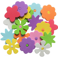 Self Adhesive Foam Flower Shaped Stickers