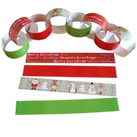 Large Paper Chain Kit Christmas Designs