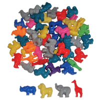 Plastic Animal Shaped Beads for Children