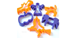 Children's Plastic Halloween Biscuit Cutters