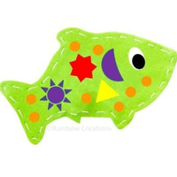 Children's Easy Felt Sewing Project - Felt Fish